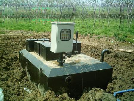 WSZ-AO型地埋式污水处理成套设备