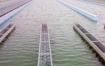 大桥自来水厂-桁架式吸泥机